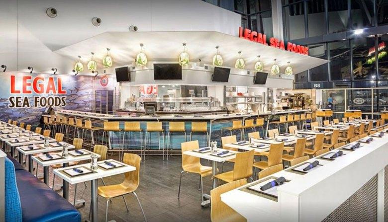 Legal Sea Foods Restaurant Boston Logan International Airport, Terminal B