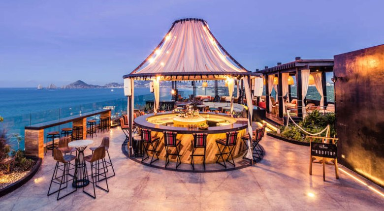 Dining al fresco at The Cape Resort in Cabo San Lucas