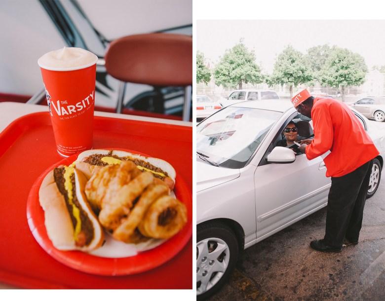 The Varsity Restaurant, Atlanta GA