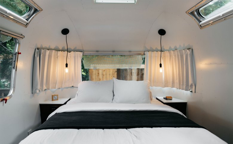 Tricked-Out Airstreams Bedroom by AutoCamp