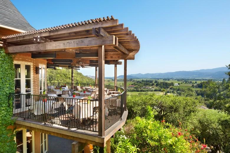 Auberge du Soleil Napa Valley, CA Balcony