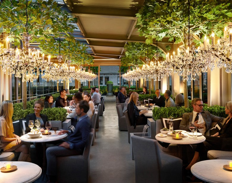 Restoration Hardware Coffee and Champagne Bar New York