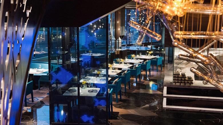 Liquid Yen Rooftop Bar Shanghai - View