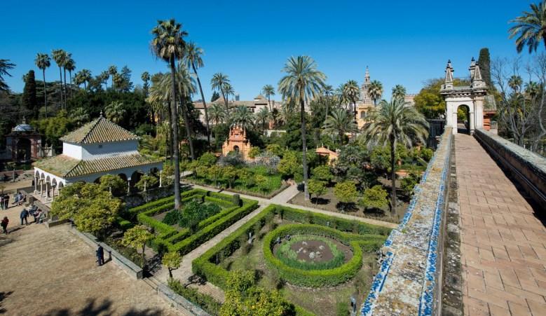 Royal Alcázar Gardens Spain