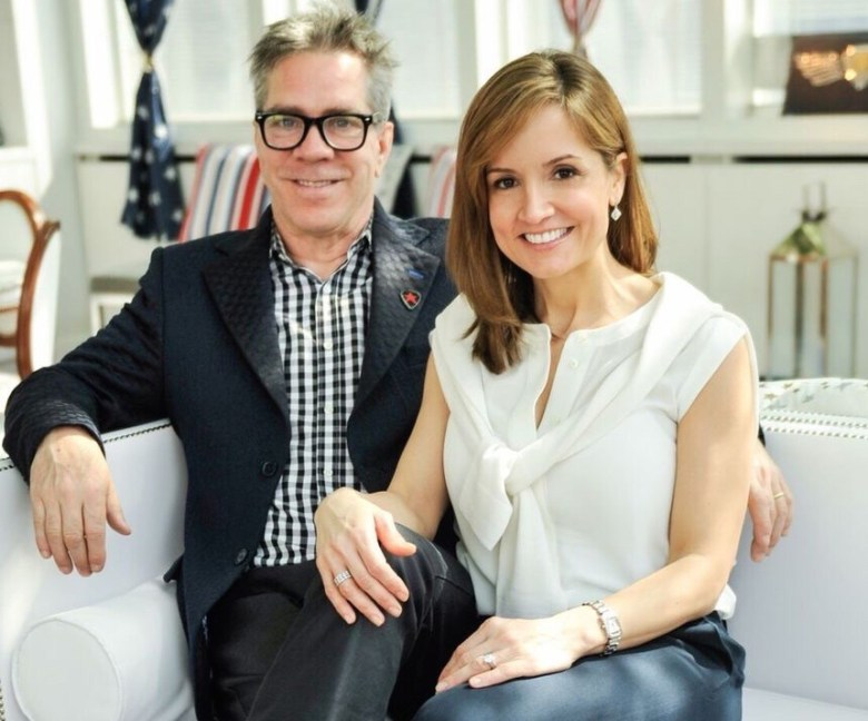 Andy Hilfiger and Kim Hilfiger