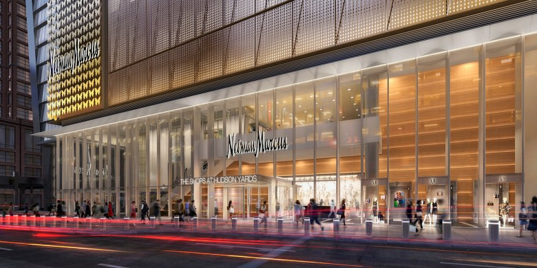 Neiman Marcus Hudson Yards NYC
