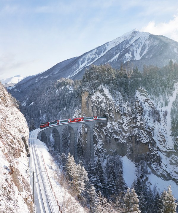 Glacier Express rail