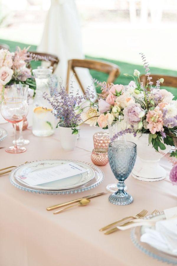 Fresh Florals Spring Tablescape