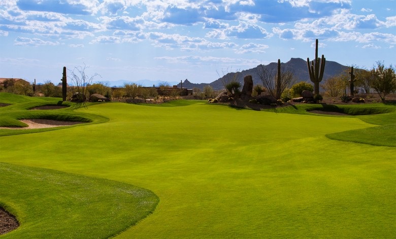 Beautiful Fairway at No. 7 at Desert Mountain Golf Course