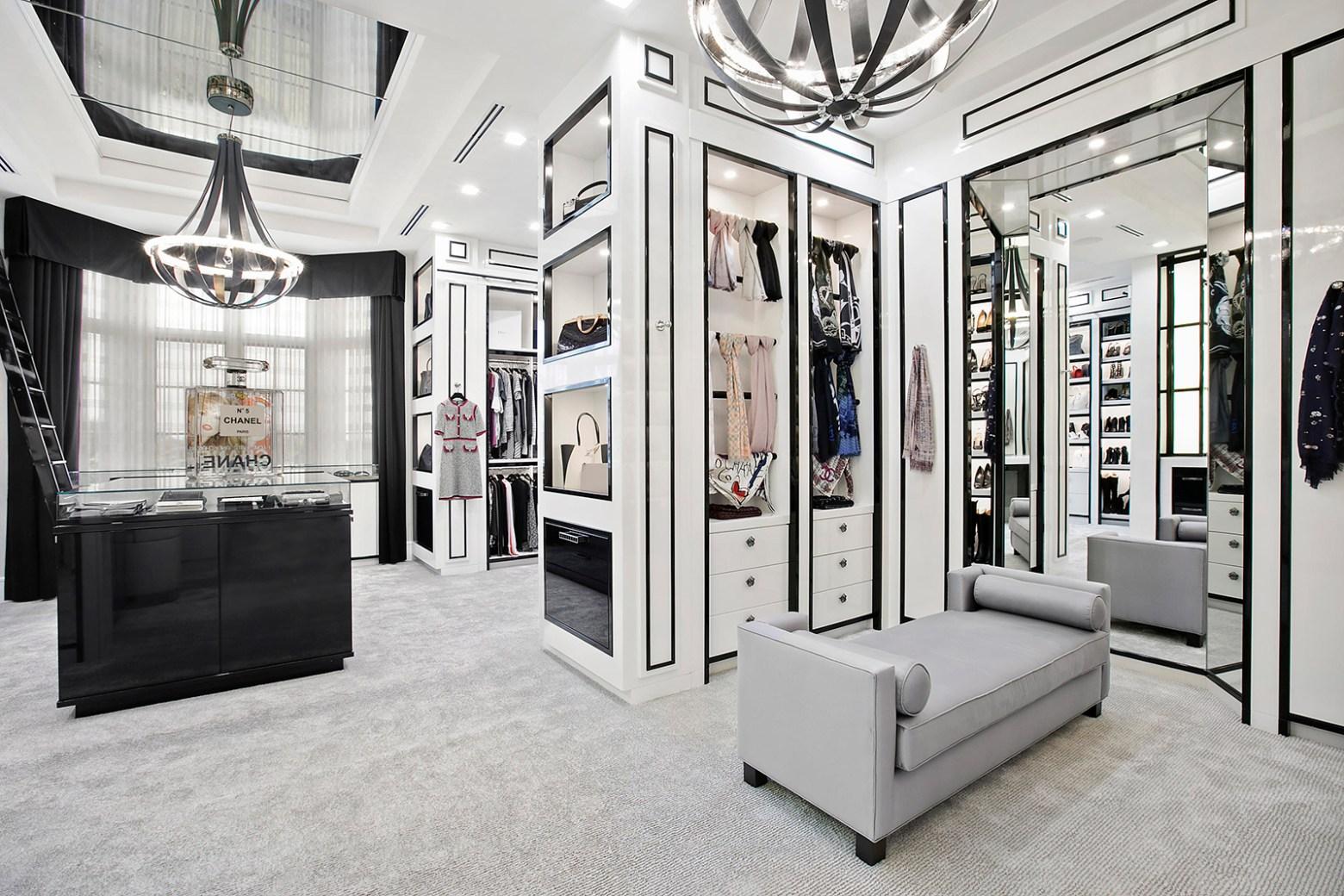 Chanel inspired classy wardrobe closets