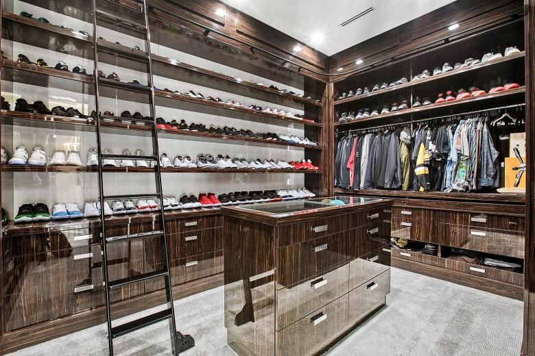 sophisticated closet