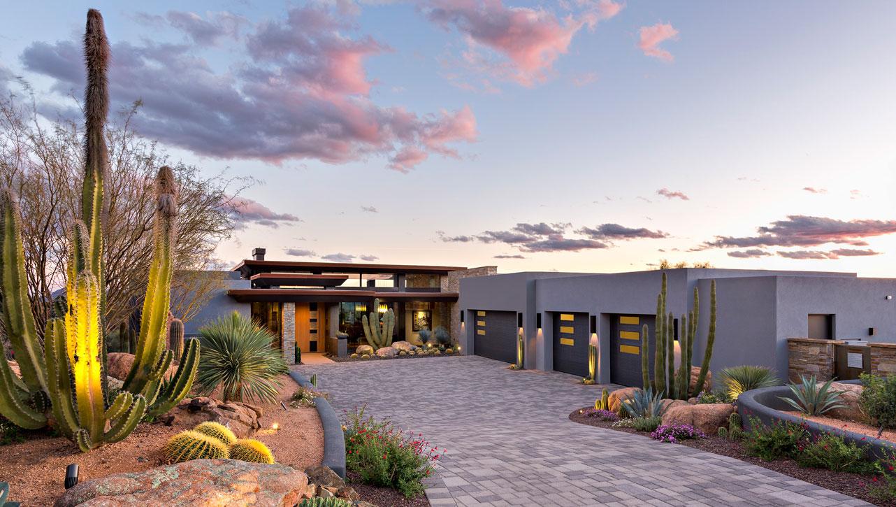 Modern design Scottsdale home Tate Studio Architects