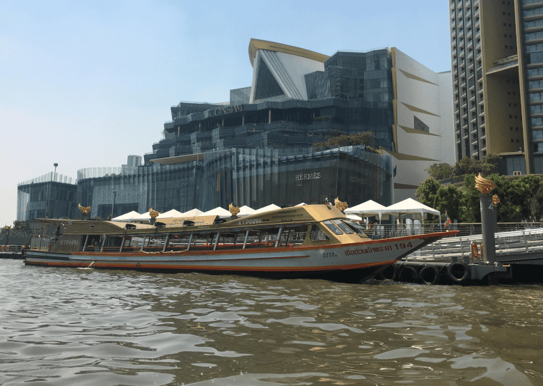 Chao Praya river taxi