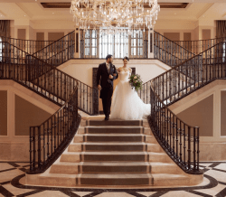 Couple Getting Married in Adare Manor in Ireland
