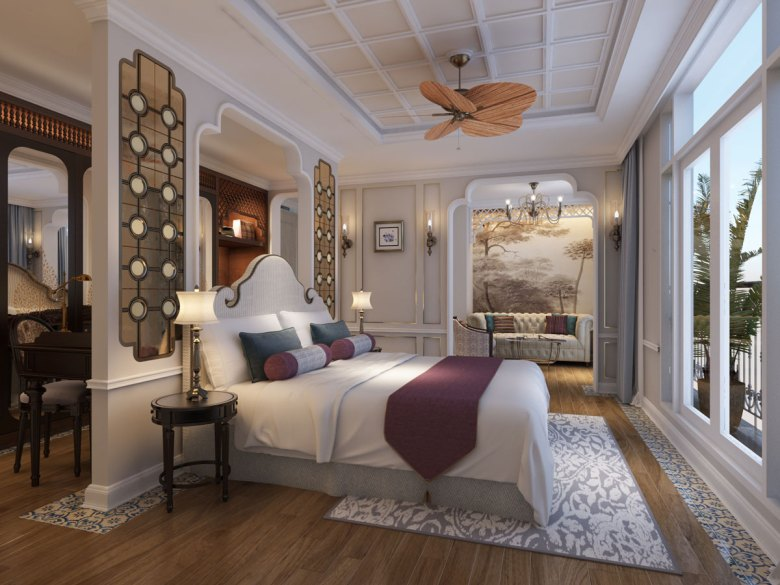 Luxurious stateroom aboard your river cruise in India