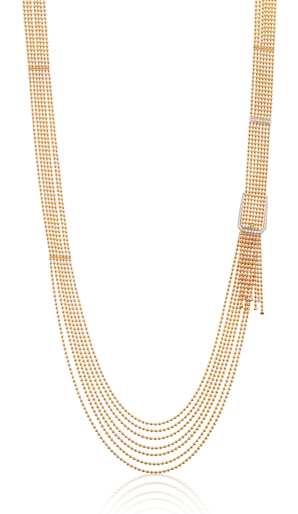 Flapper buckle necklace Maria Canale