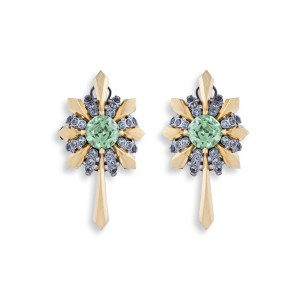 Mint Green Garnet Earrings Adam Foster
