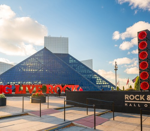 I.M. Pei Architect Rock and Roll Hall of Fame Cleveland