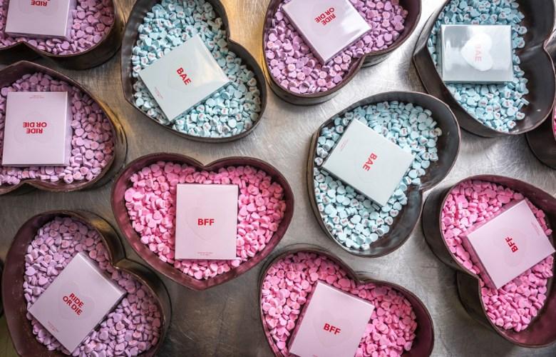 Chris Ford Kim Kardashian chocolates