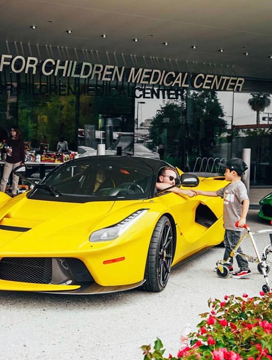 RD Whillington and LA Shriner's Children's Hospital