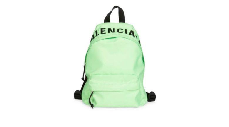 Balenciaga Wheel Logo Backpack