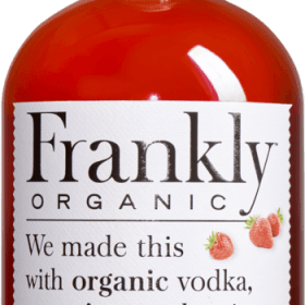 Frankly's organic vodka