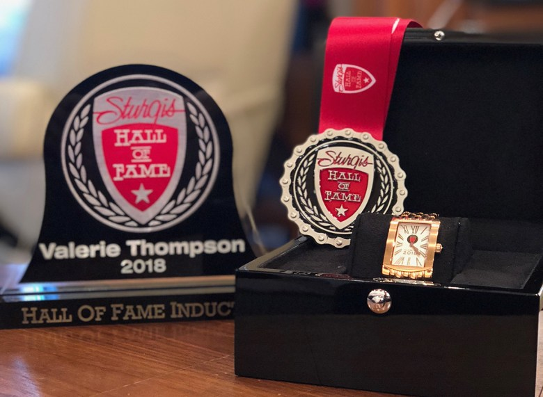 Racing Hall of Fame Valerie Thompson