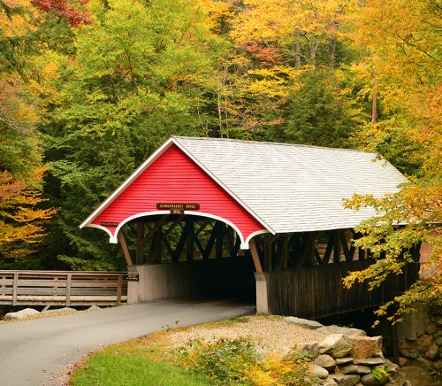 Franconia Notch State Park New Hampshire