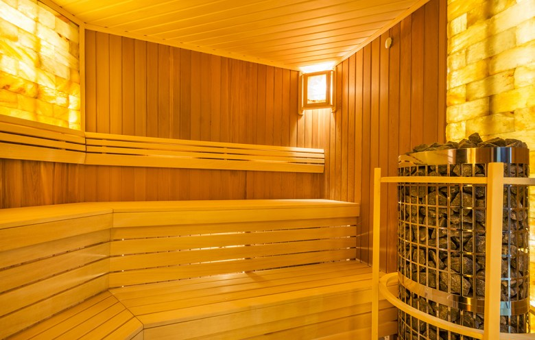 Salt Room spa at home