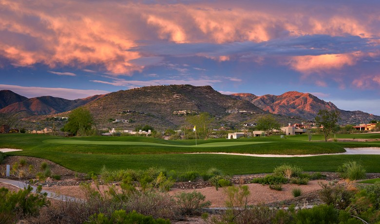 Seven Desert Mountain golf course AZ