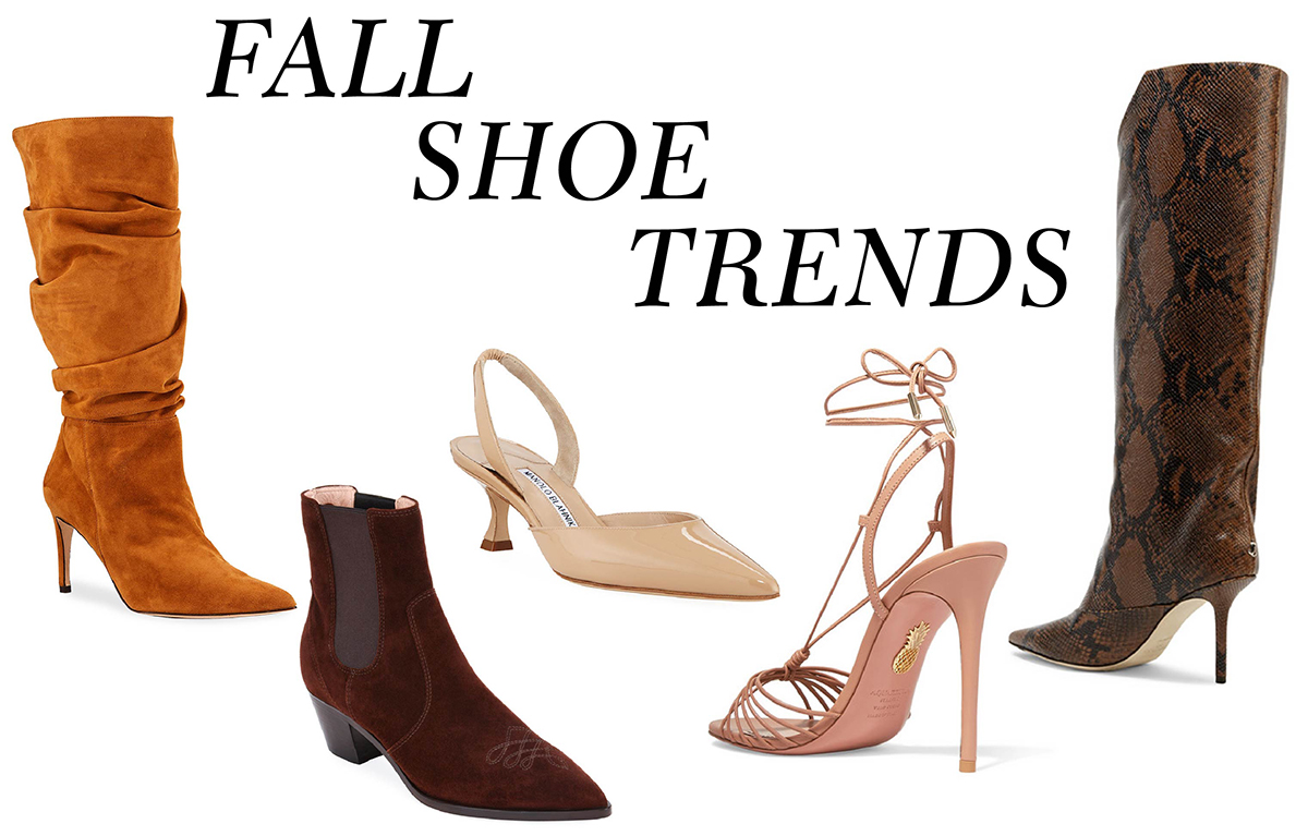 Fall 2019 fashion trends shoes