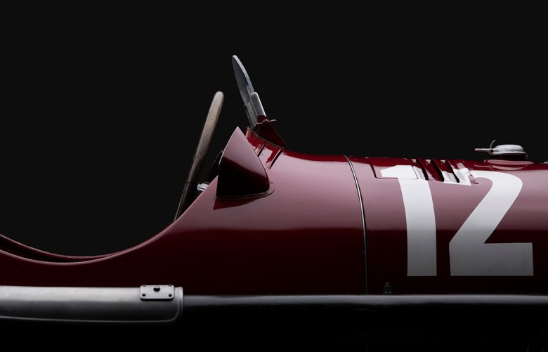 1934 Alfa Romeo famous race car