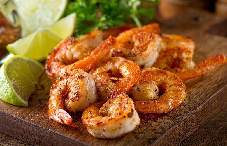 Cajun shrimp holiday party appetizers