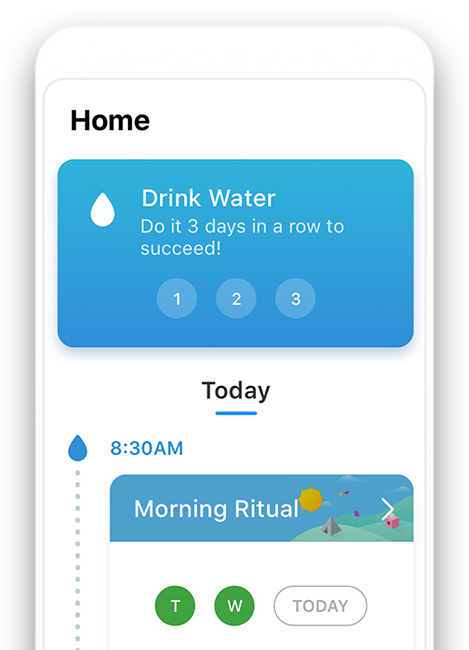 Hydration app for effective goals 2020