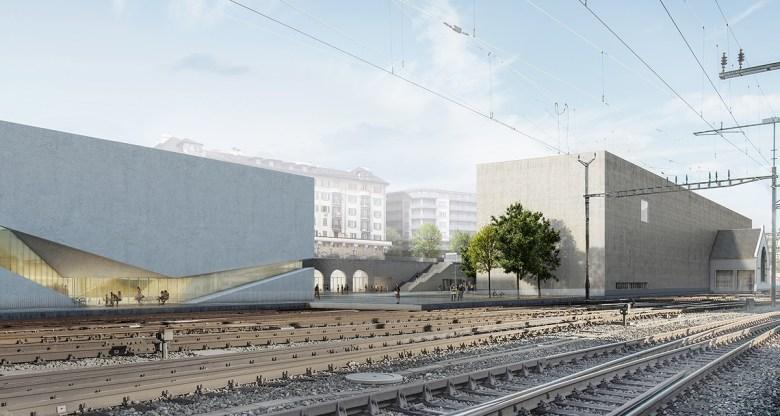 Platform 10 Musee de Elsyee Lausanne Switzerland