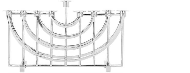 RICCI-ARGENTIERI modern menorah design