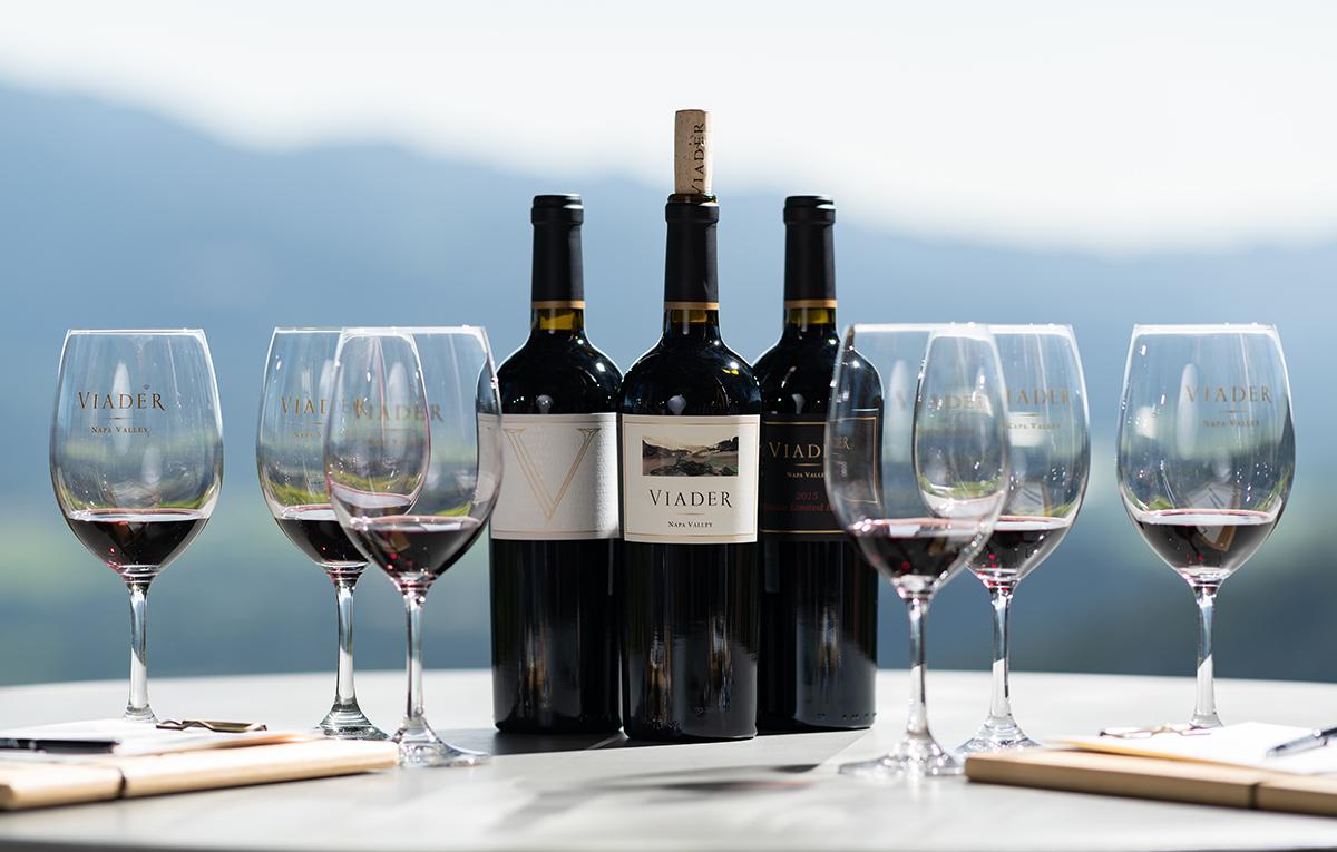 Viader Winery Napa Valley black label