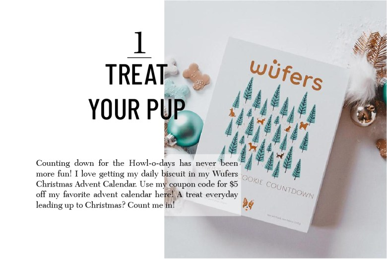 Wufers Advent calendar Christmas gift for pets