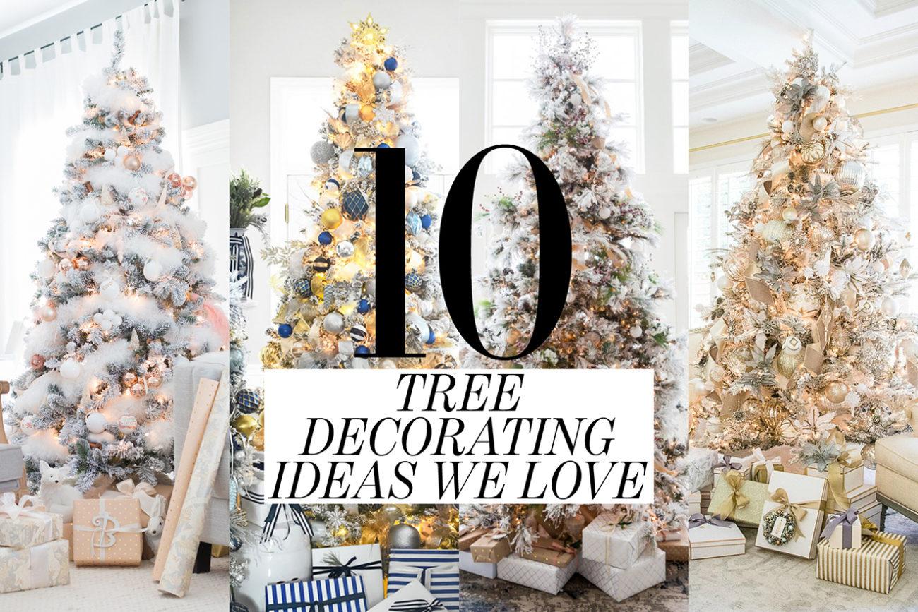best Christmas tree decorating ideas