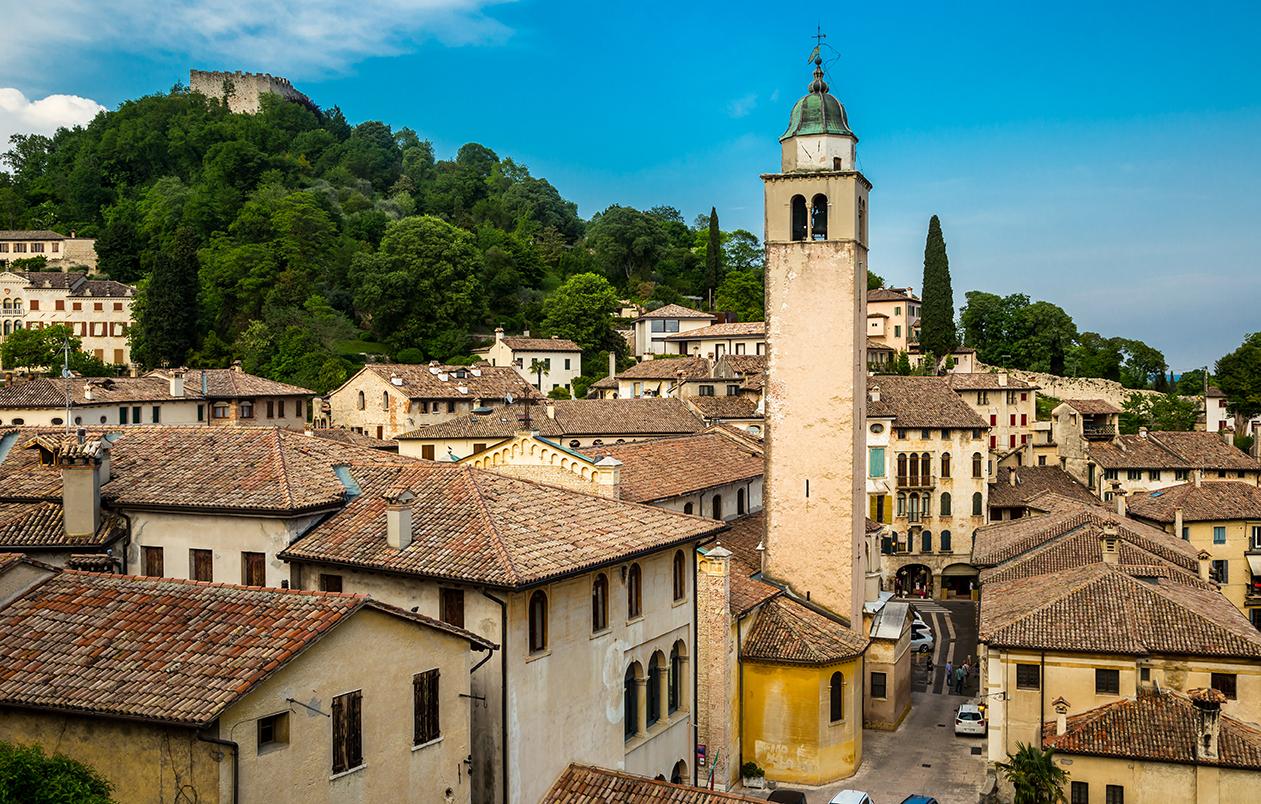 Asolo Italy Iconic Architecture