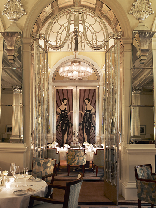 Best place for high tea at Claridge