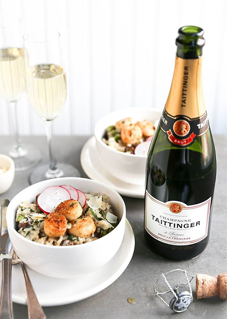 Champagne Taittinger culinary competition