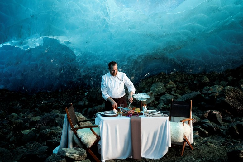 Ice Dining in Whistler best experiential gifts
