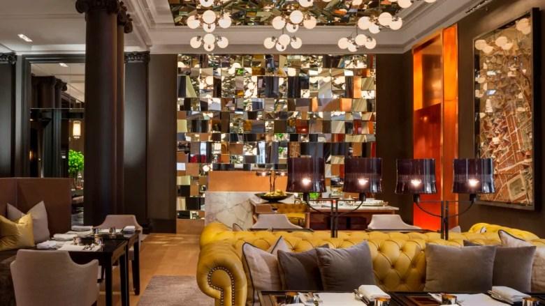 The Mirror high tea in London