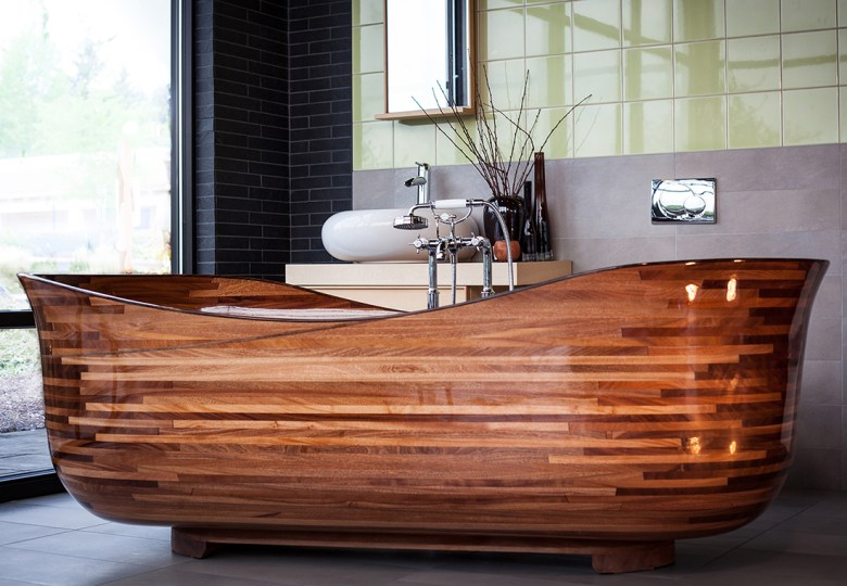 NK Tubs exotic Woodworking