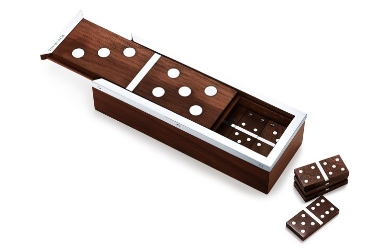 Tiffany's dominoes set Valentine gift idea