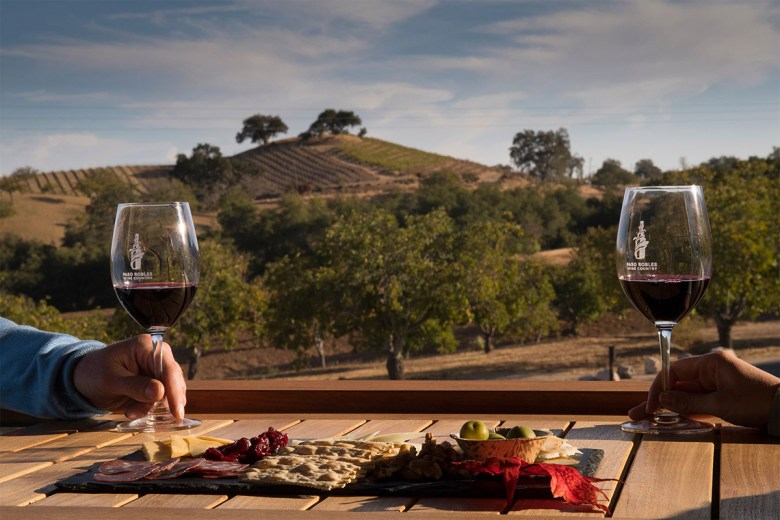 best red wines from Napa Valley Paso Robles