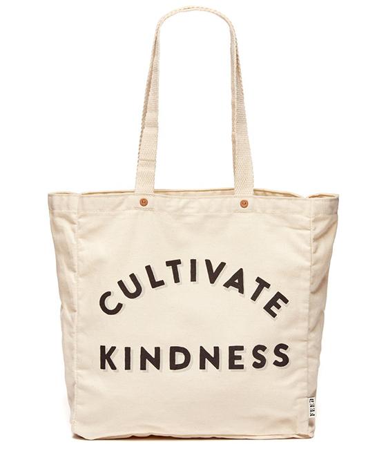 cultivate kindness reuseable bag