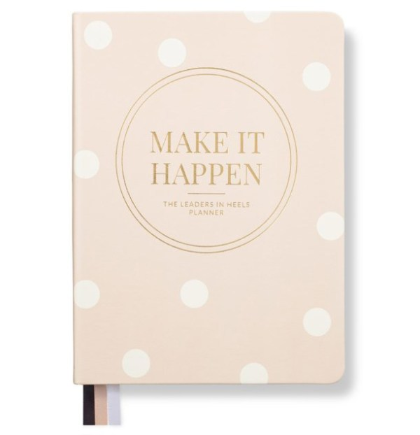 make it happen 12 month planner to get organzined