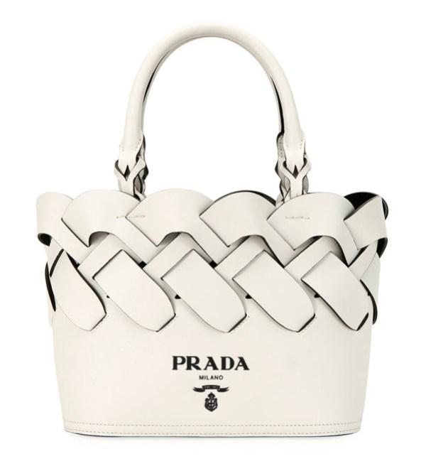 Prada woven Spring handbag